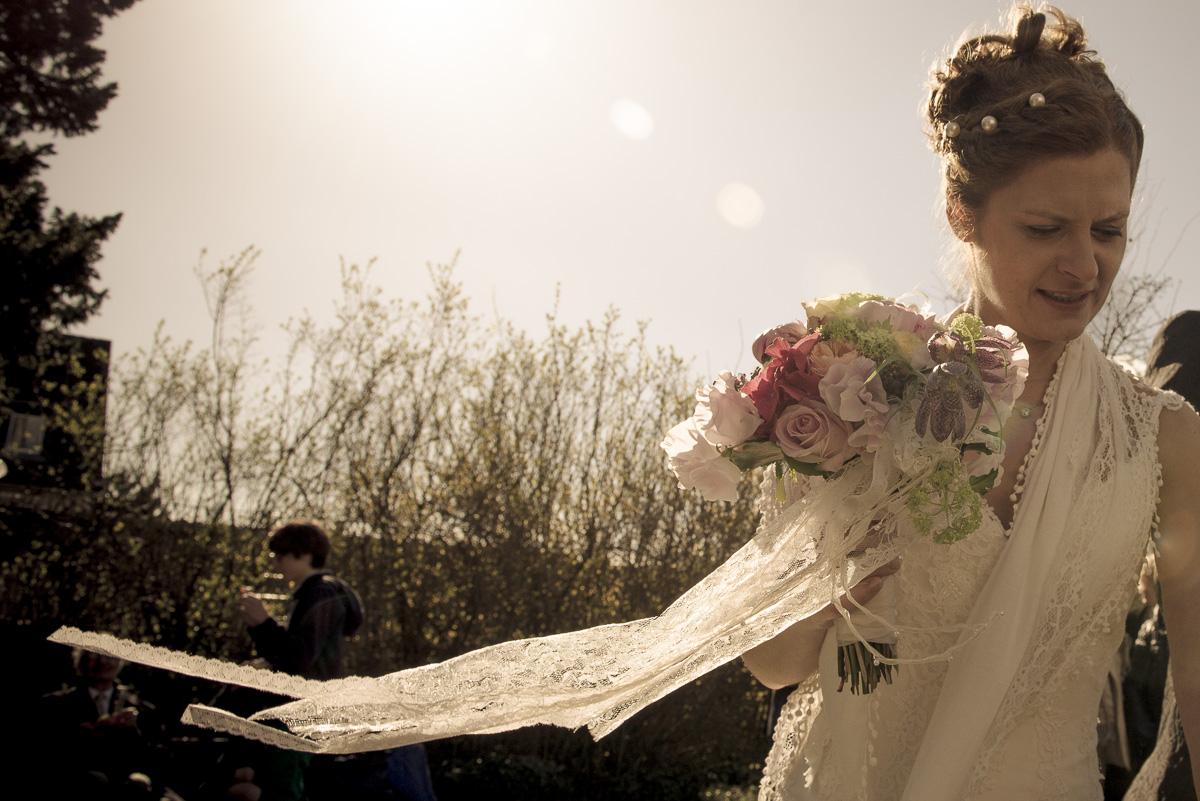 die Braut arty foto