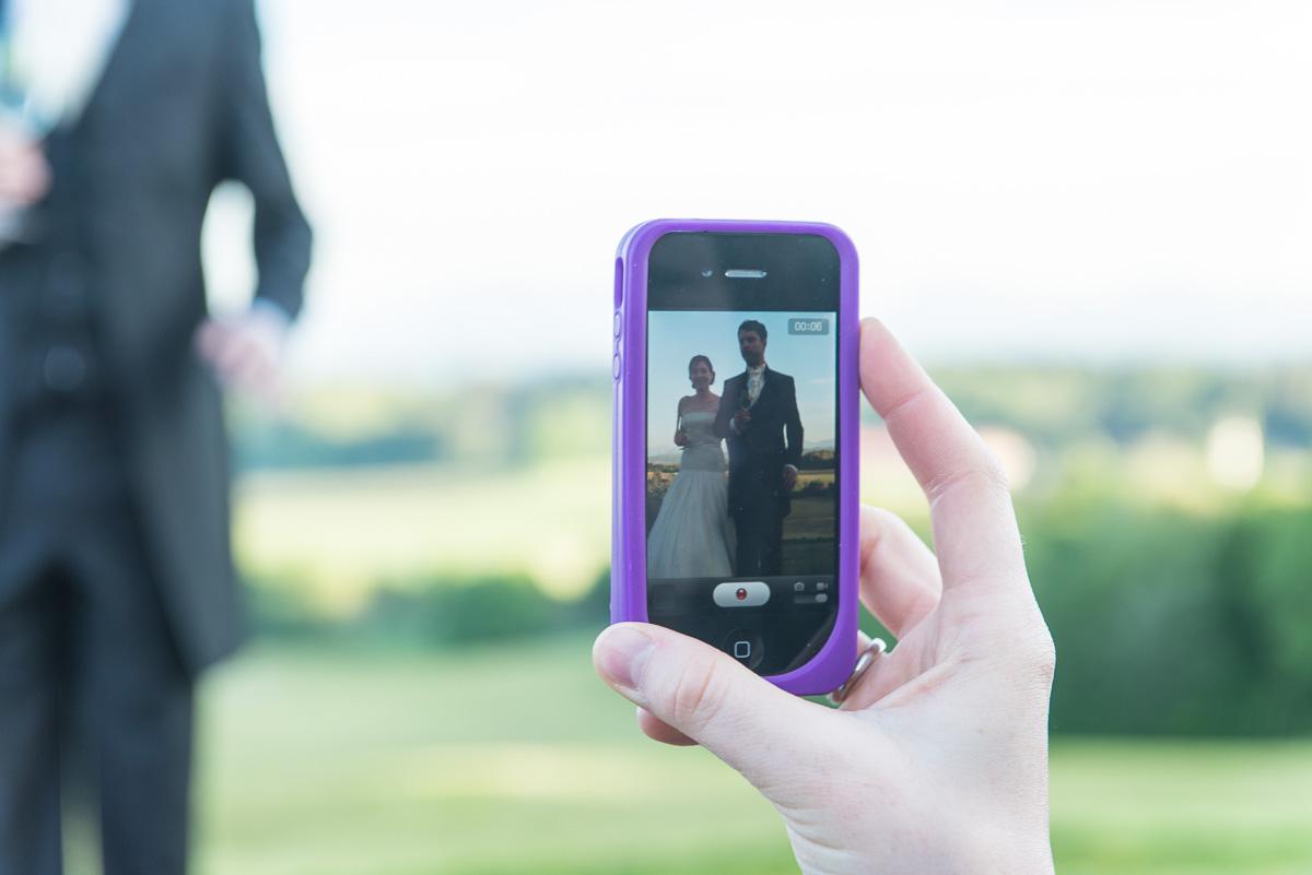 hochzeitsfotos mit dem iphone